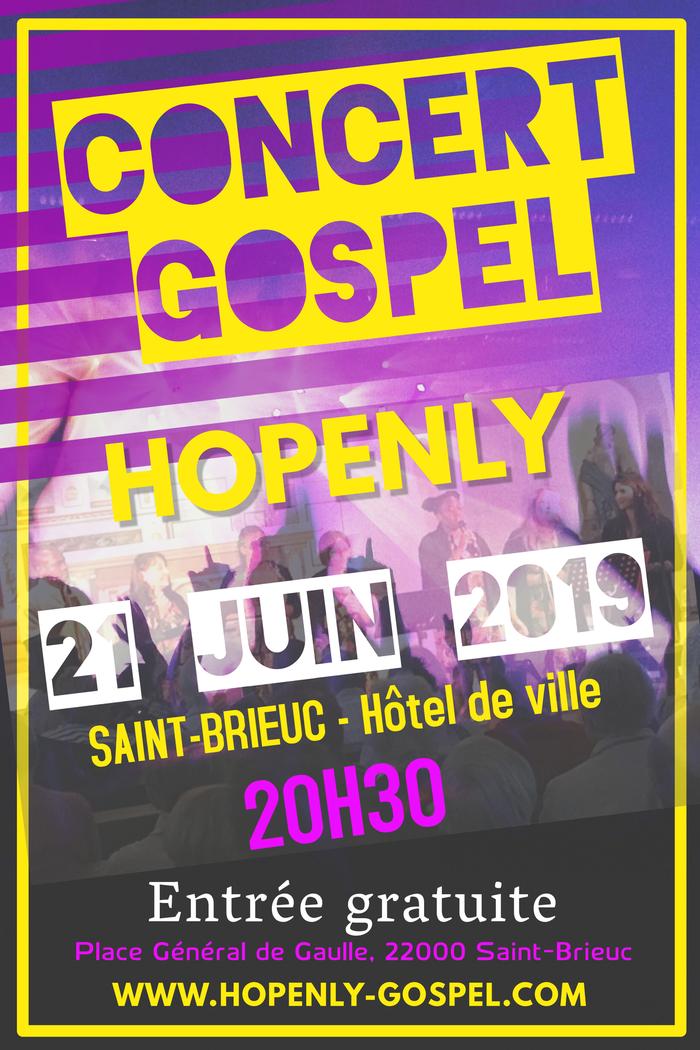 Fête de la musique 2019 - Hopenly Gospel