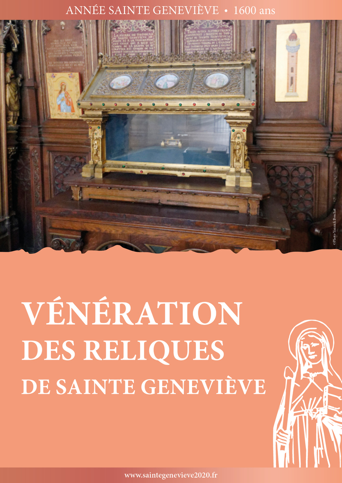 Sainte Geneviève à Notre-Dame de l'Arche d'Alliance
