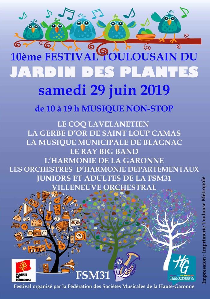 10ème FESTIVAL FSM31 AU JARDIN DES PLANTES