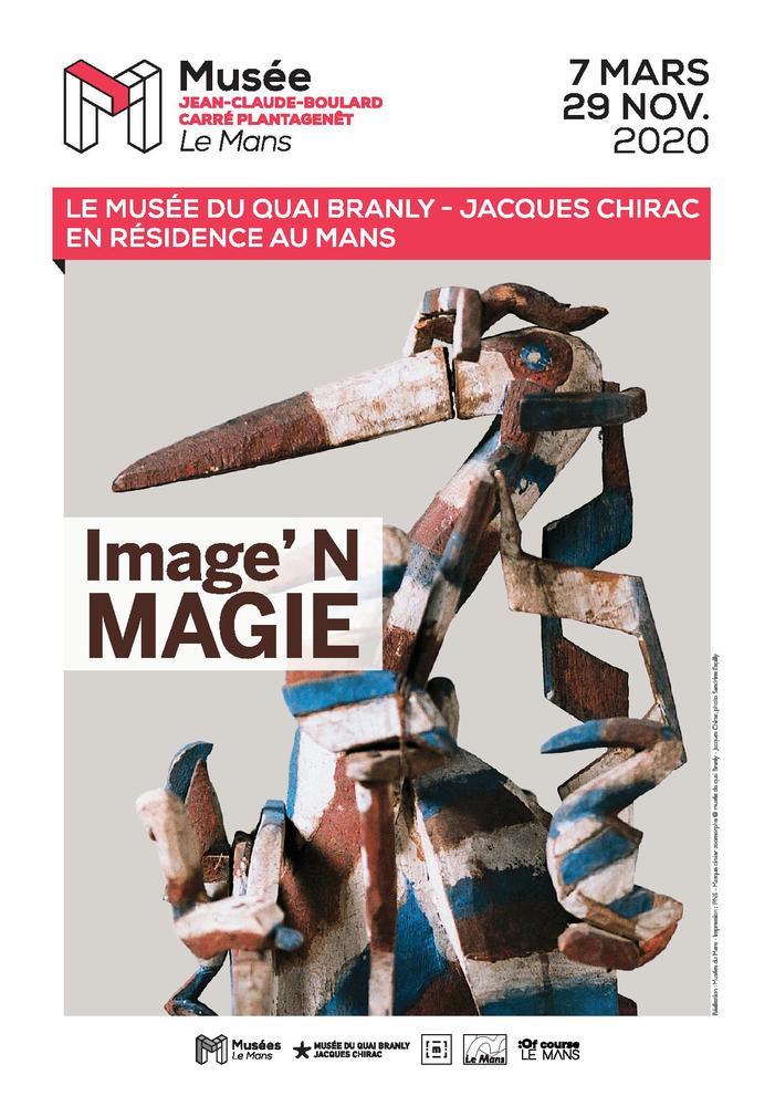 Journées du patrimoine 2020 - Image'N Magie - Le musée du quai Branly – Jacques Chirac en résidence au Mans