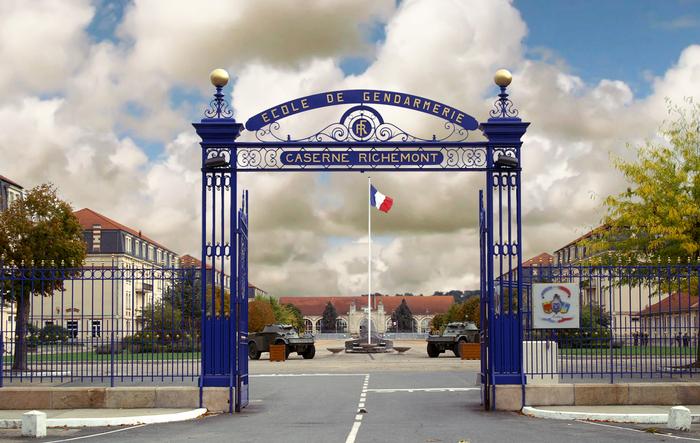 Journées du patrimoine 2019 - Visite de l'école de gendarmerie de Montluçon
