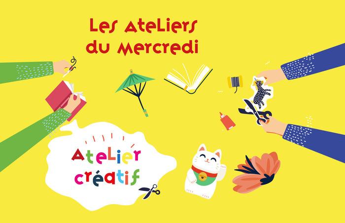 Atelier créatif / Les Ateliers du Mercredi