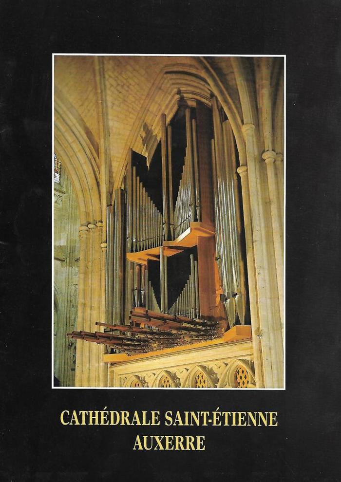 Journées du patrimoine 2019 - Concert à la cathédrale Saint-Étienne d'Auxerre