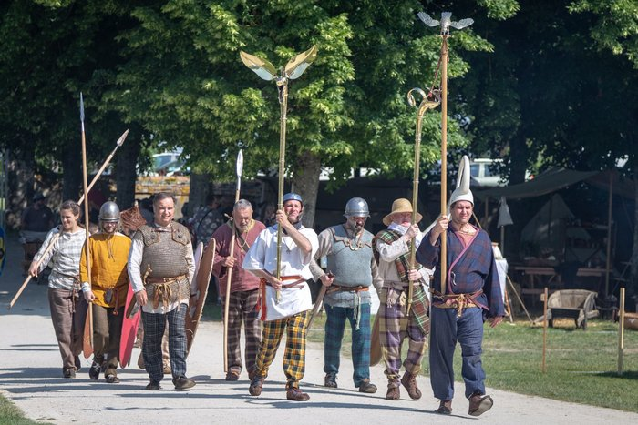 Journées du patrimoine 2020 - Découverte de la vie quotidienne de la période gauloise en visitant le campement de la troupe Branno-Teuta