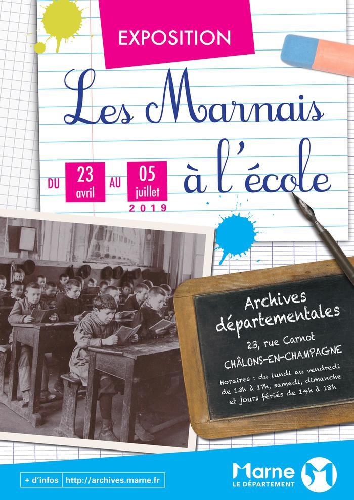 Journées du patrimoine 2020 - Exposition « Les Marnais à l'école, 1830-1960 »