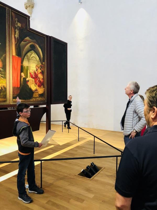 Nuit des musées 2019 -La classe, l'oeuvre ! - Médiation autour des grandes oeuvres assurée par des élèves de tous âges !