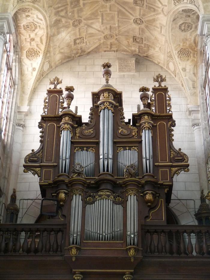 Journées du patrimoine 2019 - Visite de la tribune d'orgue de l'Église Saint-Jean-Baptiste