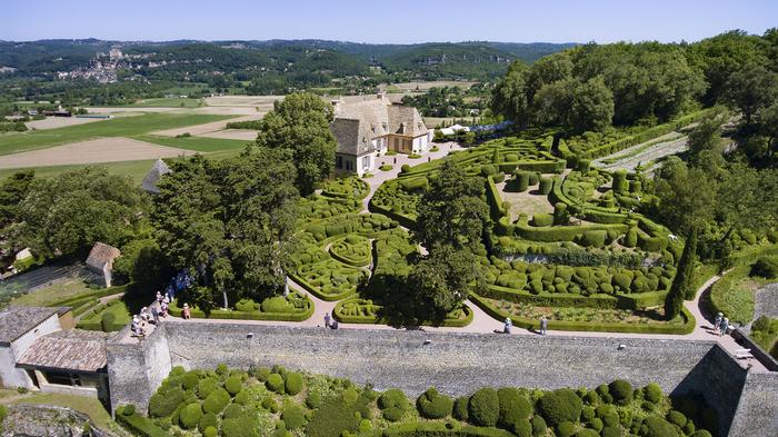 Journées du patrimoine 2019 - Découverte des Jardins de Marqueyssac - Belvédère de la Dordogne