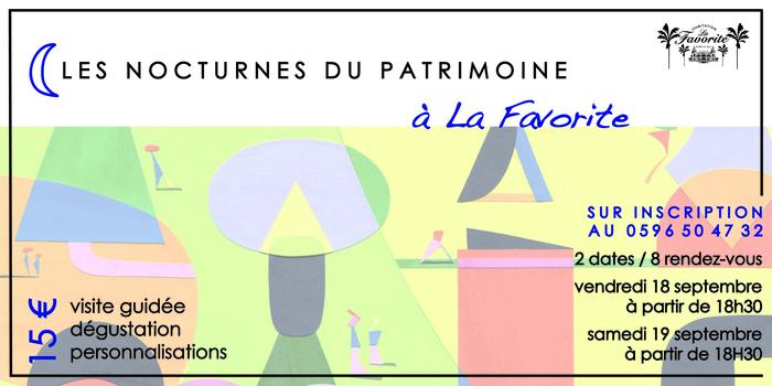 Journées du patrimoine 2020 - FdF / Les Nocturnes du Patrimoine