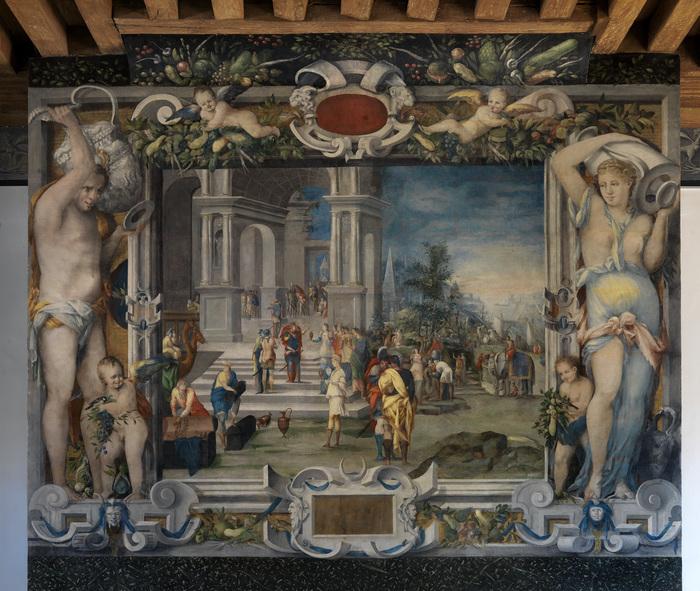 Journées du patrimoine 2019 - Le décor peint du château d'Écouen