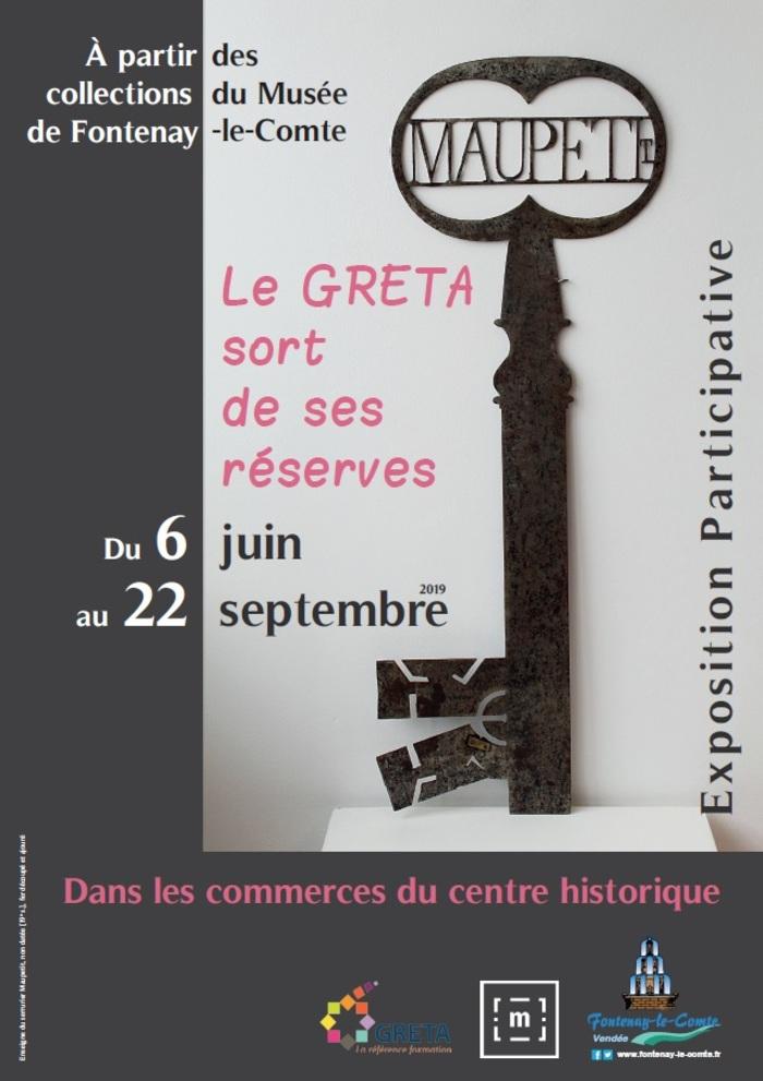 Journées du patrimoine 2019 - Le GRETA sort de ses réserves