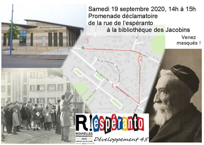 Journées du patrimoine 2020 - Promenade déambulatoire dans Fleury-les-Aubrais
