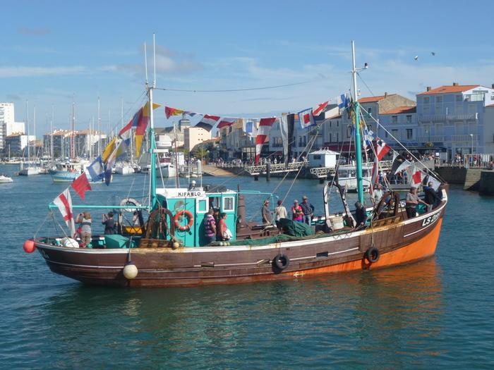 Journées du patrimoine 2019 - Ponton du Patrimoine , navire le Kifanlo