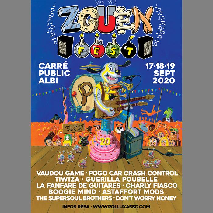 Pour fêter ses 20 ans, Pollux Association remet un événement historique au goût du jour : le Zguen Fest ! 3 jours de concerts qui mettent à l'honneur l'aventure humaine à l'origine de l'association.