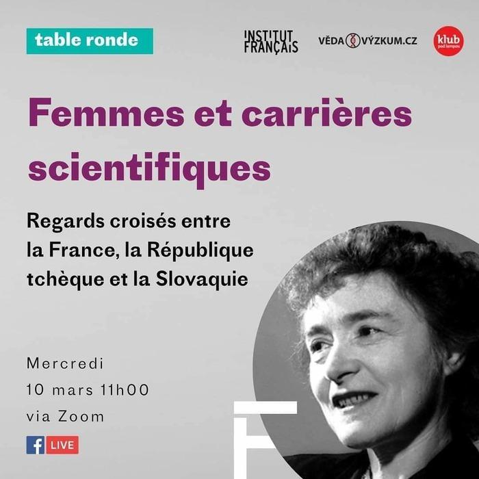 Les Instituts français de République Tchèque et de Slovaquie organisent une table ronde qui réunira des spécialistes du genre et des femmes scientifiques qui feront part de leur propre expérience