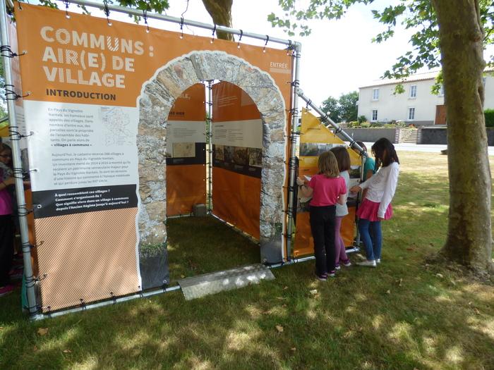 Journées du patrimoine 2019 - Visite commentée de l'exposition  « Communs : Air(e) de villages »