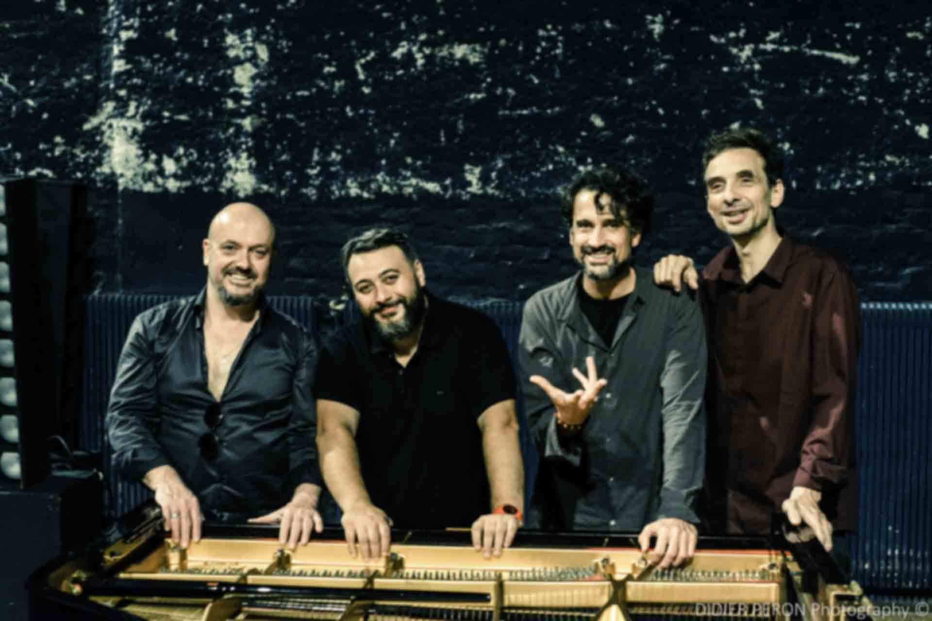 Baptiste Trotignon, Eric Legnini, Bojan Z, Pierre de Bethmann « PianoForte » (Reporté)