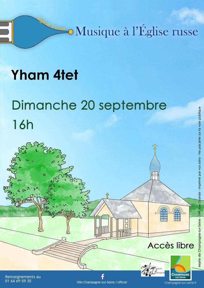 Journées du patrimoine 2020 - Concert à l'Église russe