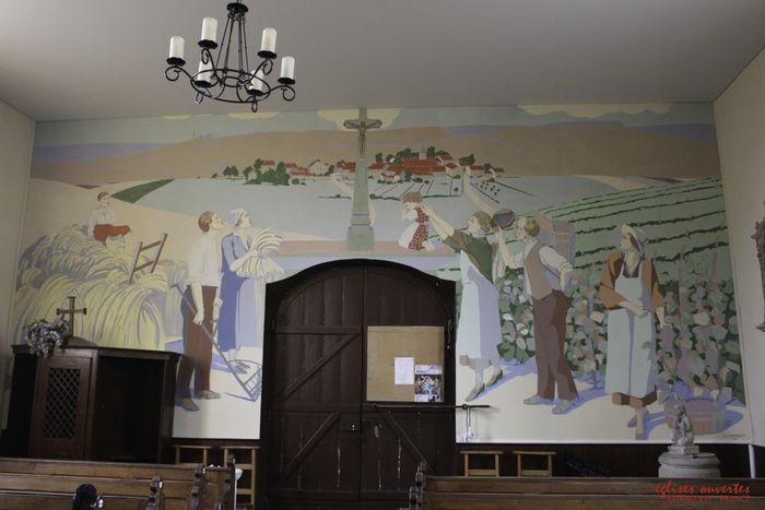 Journées du patrimoine 2019 - Visite libre de l'église de la Croix Glorieuse
