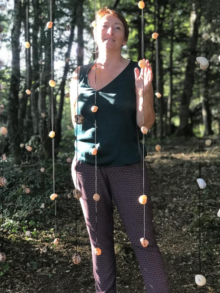 Journées du patrimoine 2019 - Visites libres ou guidées, Land'art aux Jardins suspendus de Cohons