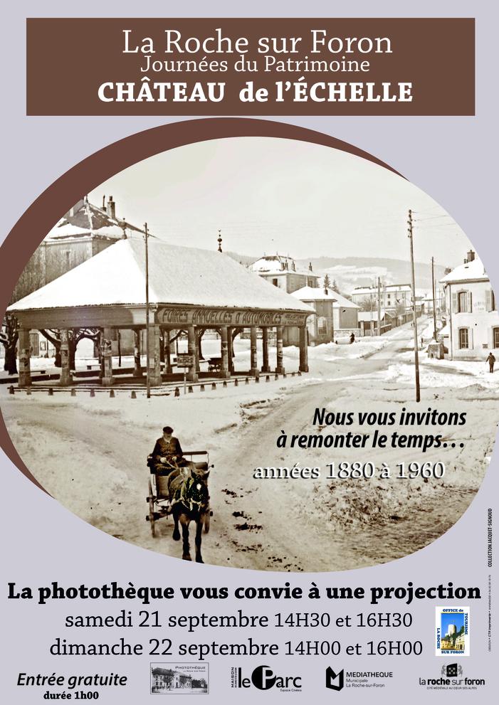 Journées du patrimoine 2019 - Chronique d'une ville des années 1880 à 1960
