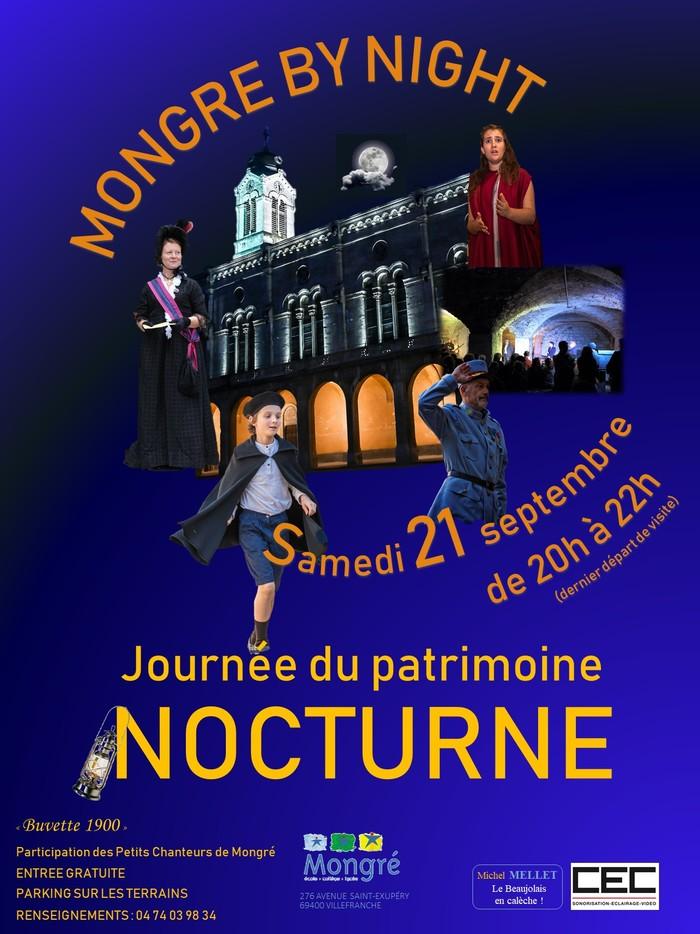 Journées du patrimoine 2019 - Mongré by night - Visites nocturnes