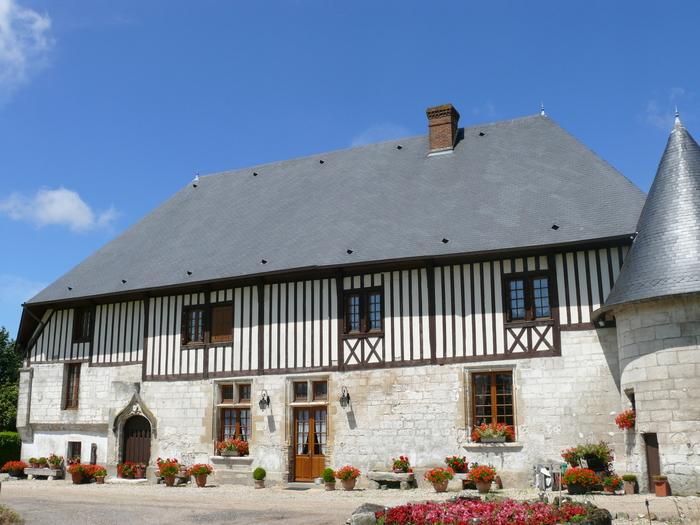 Journées du patrimoine 2020 - Visite libre des extérieurs de la ferme et du manoir de Cailletot
