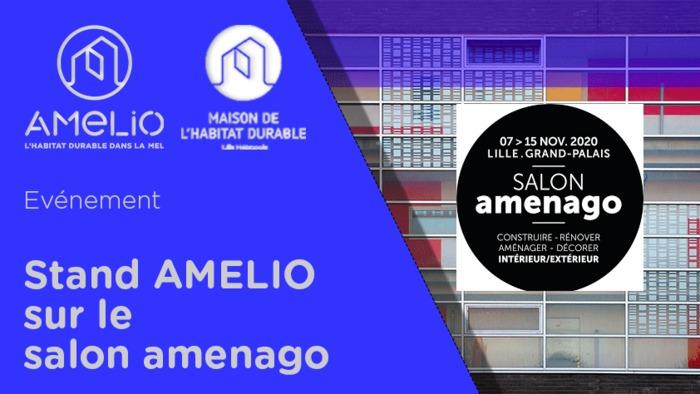 Annulé | Le stand AMELIO sur le salon AMENAGO 2020