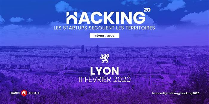 Hacking 2020 - France Digitale à Lyon !