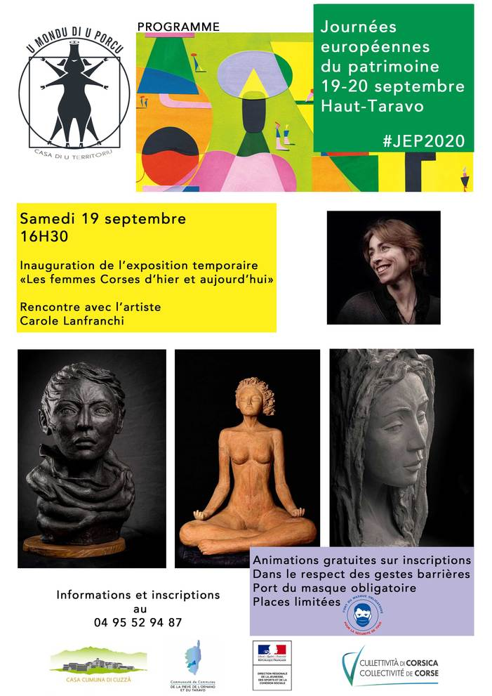 Journées du patrimoine 2020 - Annulé | Reporté - Rencontre avec l'artiste Carole Lanfranchi
