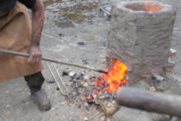 Journées du patrimoine 2020 - Démonstration de forge et maréchal ferrant