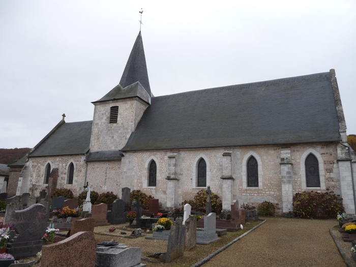 Journées du patrimoine 2020 - Visite libre de l'église Saint-Léger
