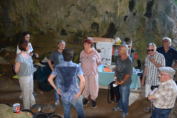Journées du patrimoine 2019 - Visite guidée de la grotte préhistorique de la Crouzade