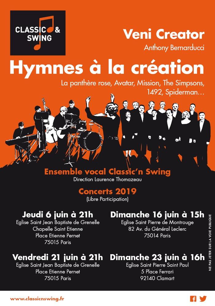 Fête de la musique 2019 - Hymnes à la création