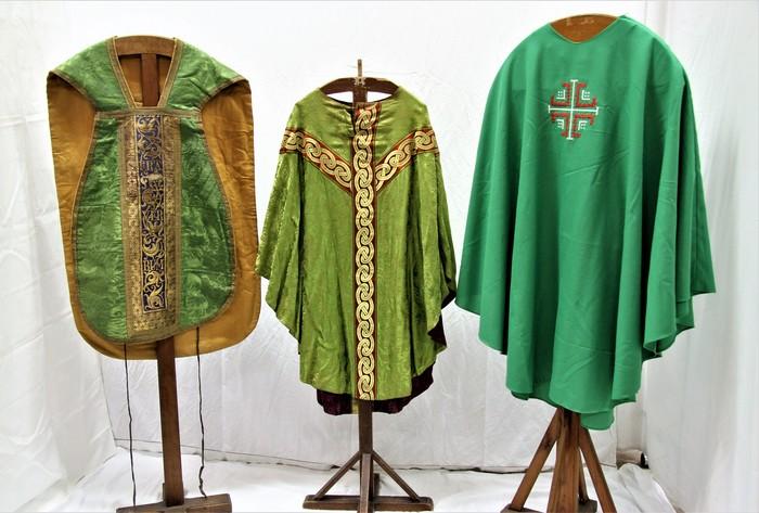 Journées du patrimoine 2020 - Visite de l'exposition de vêtements liturgiques
