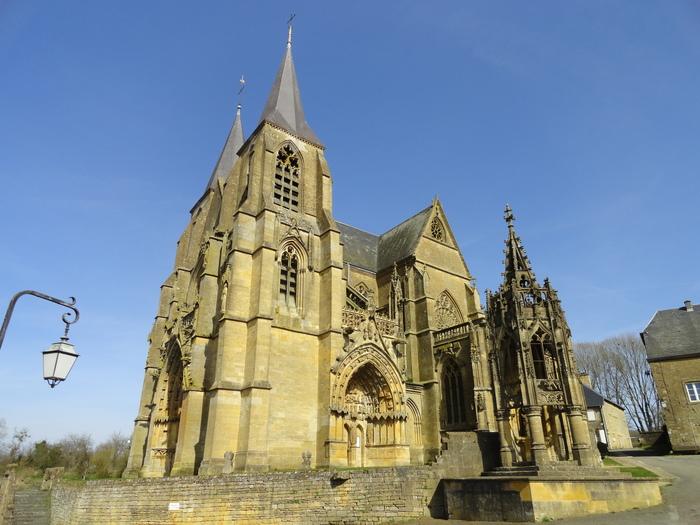 Journées du patrimoine 2019 - Visite de la Basilique Notre-Dame d'Avioth