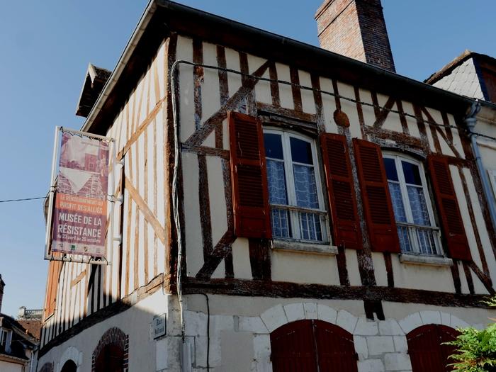 Journées du patrimoine 2019 - Visite du musée de la Résistance - groupe jovinien Bayard