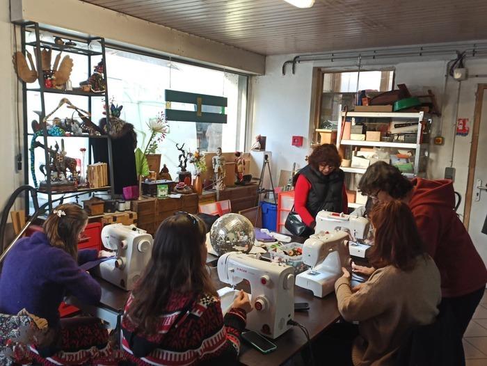 Atelier couture avec Saroj