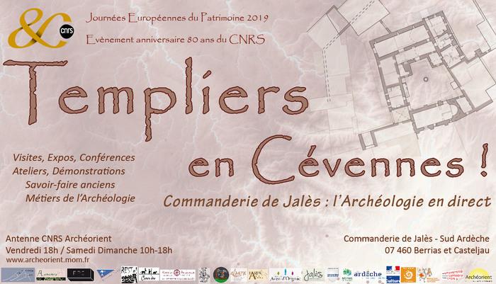 Journées du patrimoine 2019 - Templiers en Cévennes! Conférence