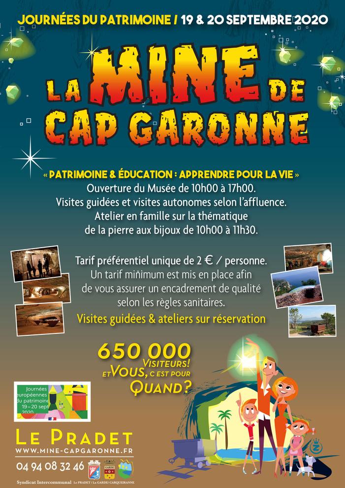 Journées du patrimoine 2020 - Visites guidées des Anciennes Mines de Cuivre de Cap Garonne