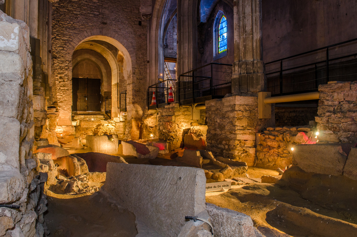 Journées du patrimoine 2019 - Site archéologique de l'Église Saint-Clément