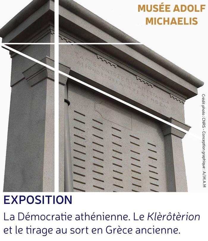 Nuit des musées 2019 -Visite guidée de l'exposition « La Démocratie athénienne. Le Klèrôtèrion et le tirage au sort en Grèce ancienne. »