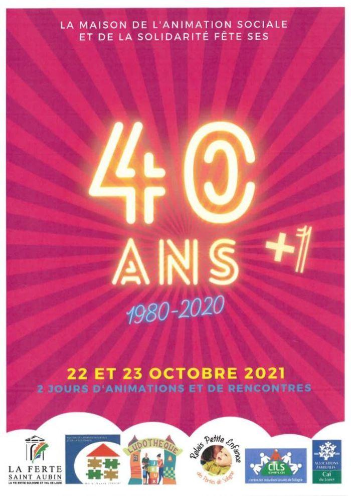 La MASS fête ses 40 ans + 1 !         En 2020, la MASS  aurait dû fêter ses 40 ans, dont les portes sont ouvertes depuis octobre 1980. Aussi, vous ont-ils         concocté un programme festif les vendredi 22 et sa...