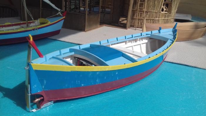 Journées du patrimoine 2020 - Navigation de modèles réduits de barques catalanes sur la lagune