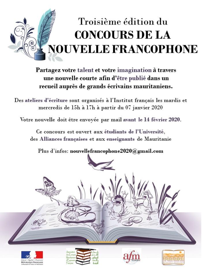 Remise des prix aux lauréats du concours de la nouvelle francophone 2020 par catégorie : élève de seconde, étudiants de l'Université, les apprenants des Alliance française et enseignant