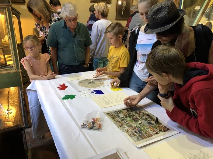 Journées du patrimoine 2019 - Ateliers autour de jeux de société anciens