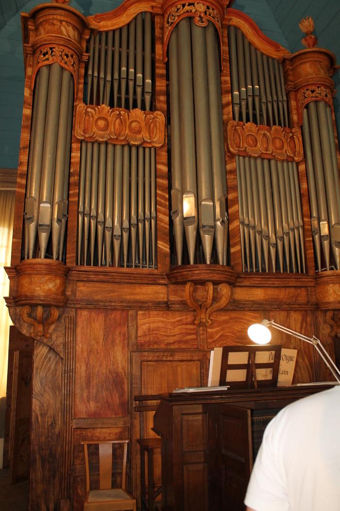 Journées du patrimoine 2020 - Visite des orgues de l'église St Michel