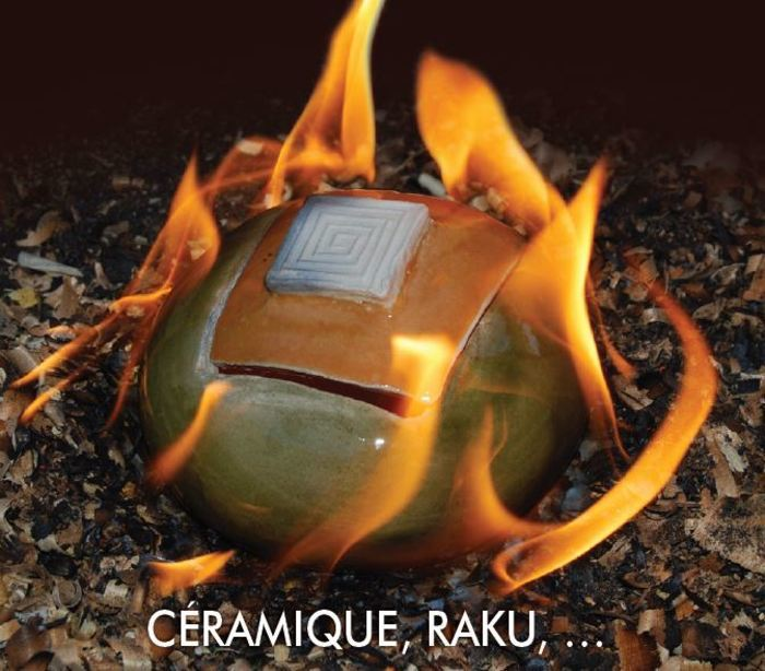 Marie-Noëlle vous ouvre les portes de son atelier de céramique raku