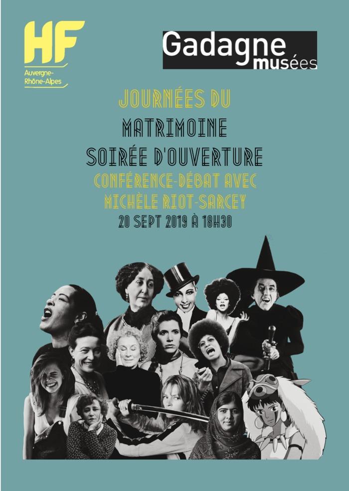 Journées du patrimoine 2019 - Journées du Matrimoine - Conférence-débat avec Michèle Riot-Sarcey