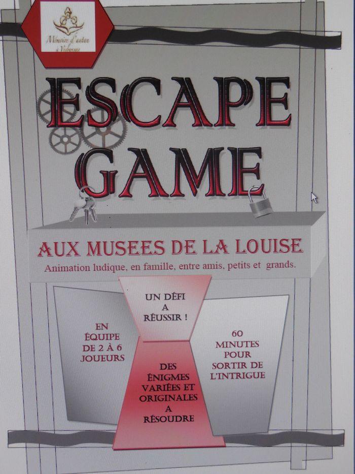 Journées du patrimoine 2019 - Escape Game aux Musées de la Louise